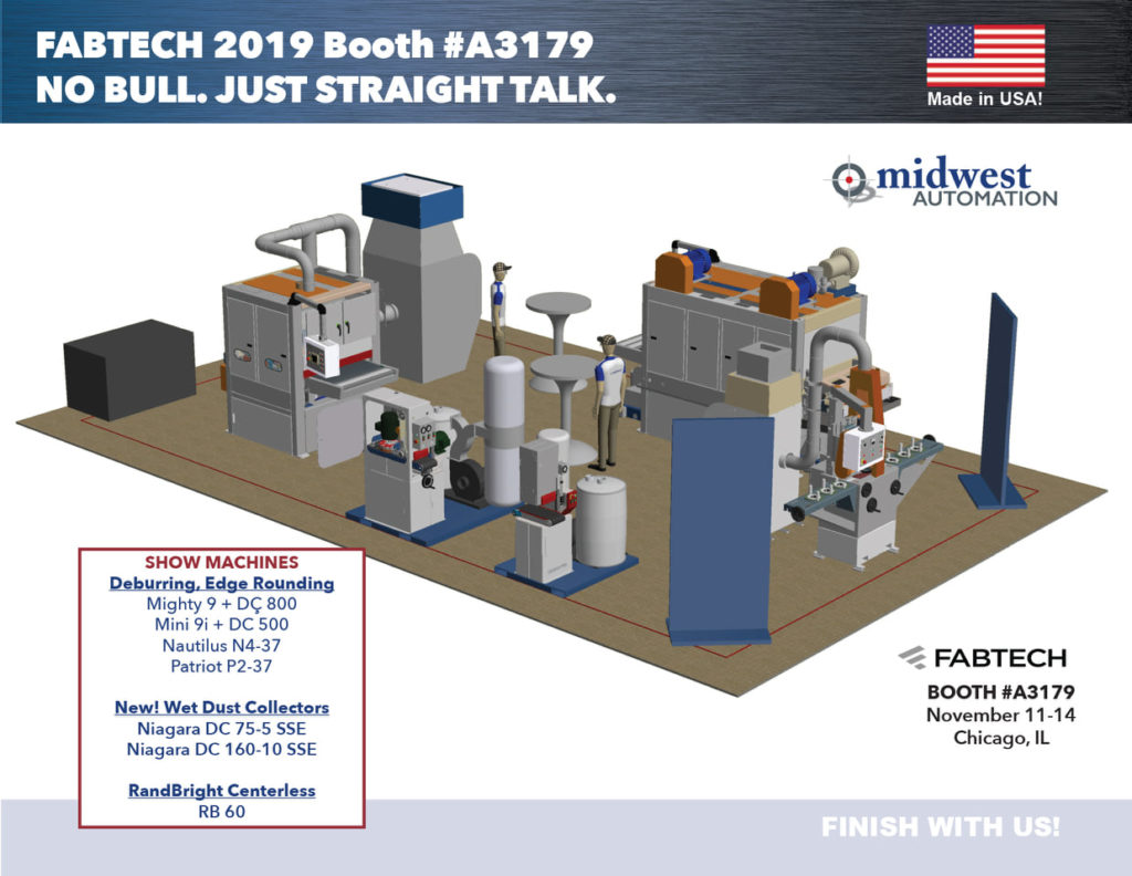 FABTECH 2019 Booth Layout