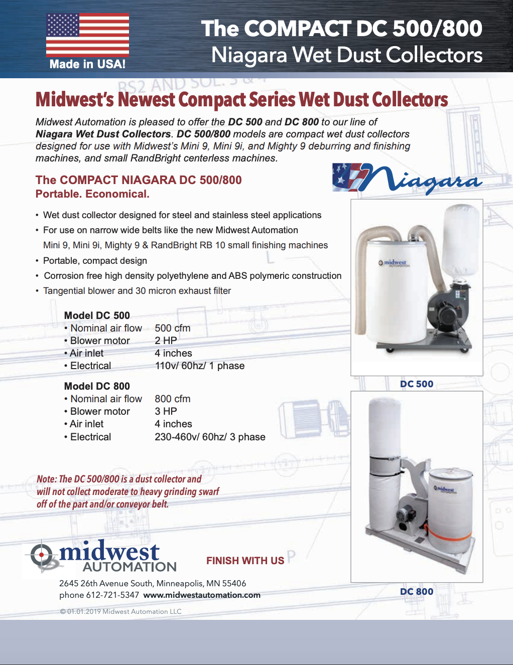 Niagara DC 500:800 Compact Wet Dust Collectors.pdf
