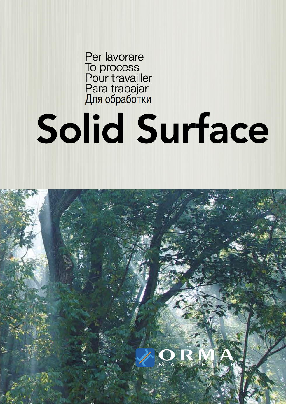 Orma Solid Surface Forming