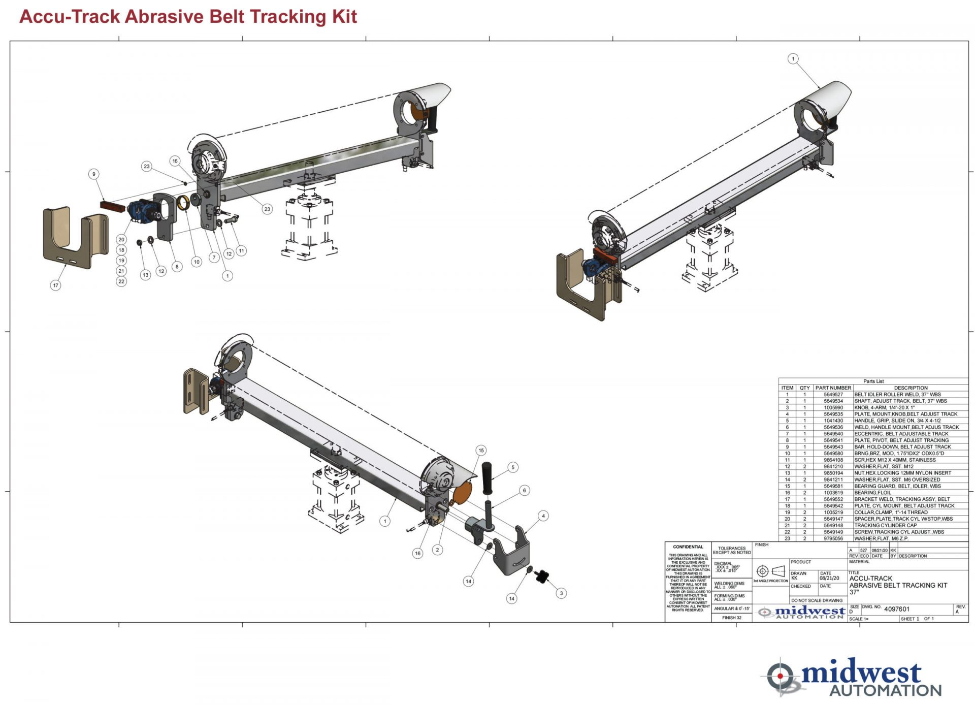 TechServB Accu-Track Abrasive Belt Sys 2020-3